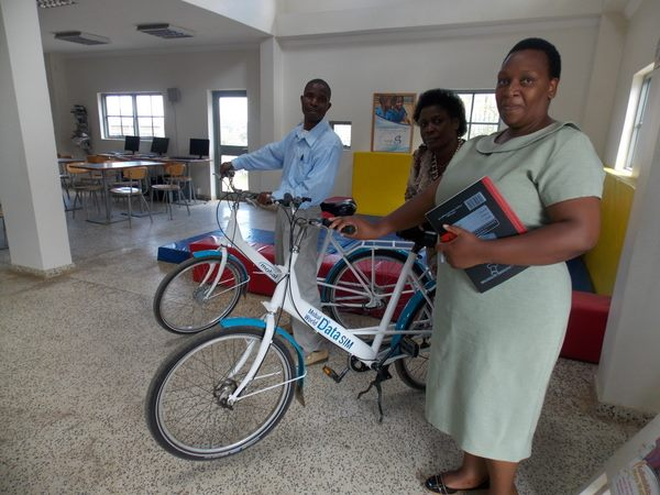 Mobal's donated bicycles